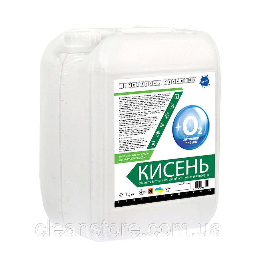 """Слабокислотное высокопенное моющее средство с антибактериальным действием """"КИСЛОРОД"""" 10 кг"""