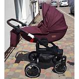 Коляска 2 в 1 універсальна Tutek Grander Play сумка дощовик москітна сітка, фото 2