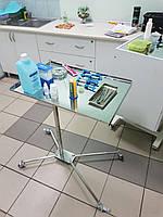 Столик медицинской сестры из нержавейки украинского производства