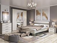 Спальня Сара комплект с шкафом 3д