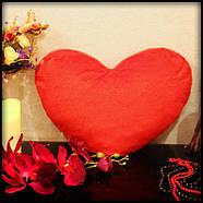"""Светящаяся подушка """"Я тебе кохаю"""" (красная), фото 5"""