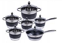 Набор посуды HOFFNER ELEGANCE 12 эл