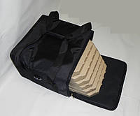 Сумка для доставки пиццы 40х40х30 черная, фото 1