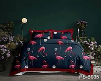 Двуспальное постельное белье полисатин PS-B035 ТМ TAG