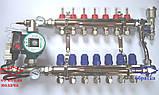 Коллектор в сборе на 8 выходов GROSS для тёплого пола, фото 2