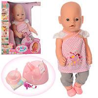 Кукла-пупс Baby Love саксессуарами 8006-447