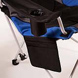 "Кресло складное ""Директор"" d19 мм (синий), фото 3"
