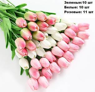 Искусственные цветы (силиконовые. шелковые)