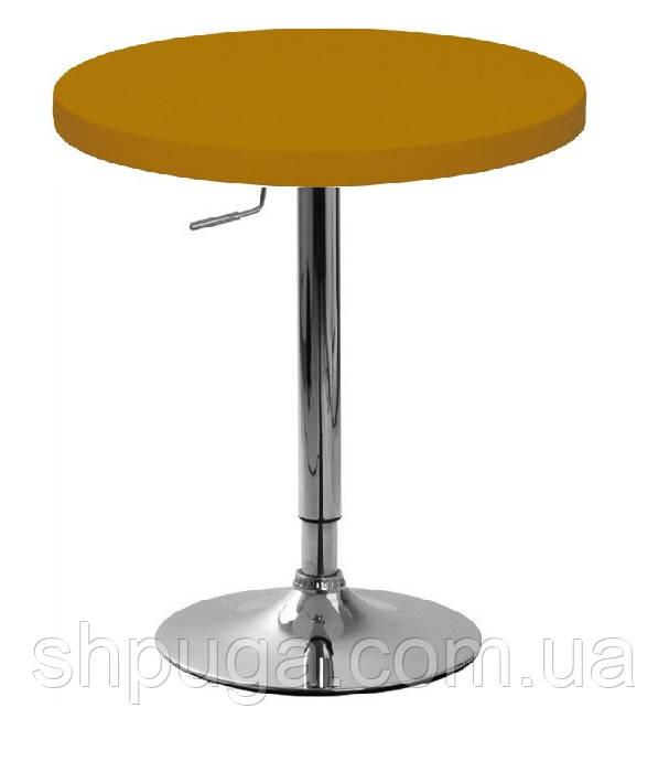 Стол барный Санни72, круглый 70 см, цвет коричневый