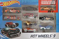 Машинки Хот Вилс 9 шт. Подарочный набор в ассортименте Hot Wheels 9-Car Gift Pack