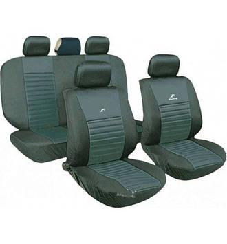 Чехлы авто сидений комплект серые Tango Milex Польша