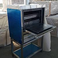 Хоспер закрытый мангал ПДУ 1000, печь гриль на углях