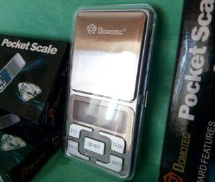 Електронні ваги Domotec Pocket Scale