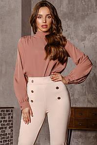 Женская блуза Кофейный
