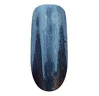 Втирка для ногтей 304 Хром голубое серебро