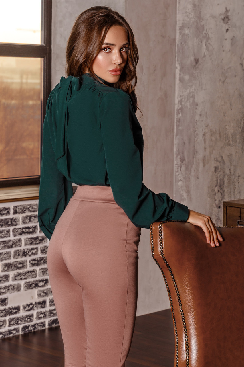 Женская блуза Изумрудный