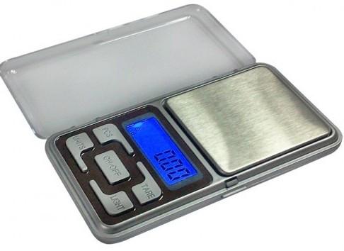 кишенькові електронні ваги ACS 500 gr/0,1 g Domotec Pocket Scale MS 1728A