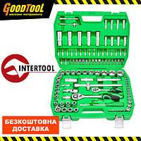 "Набір інструментів 1/2"" & 1/4"" 108 од. INTERTOOL ET-6108SP"