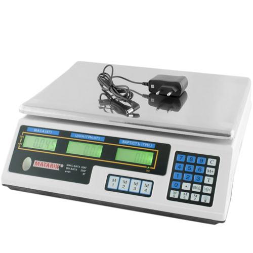 Весы торговые MATARIX MX-410B 50кг