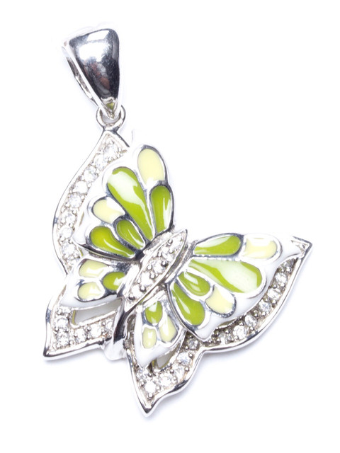Серебряные украшения с ювелирной эмалью