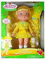 Кукла Лимона Безе Шарлотта Земляничка Strawberry Shortcake Lemon Meringue 2006, 38 см