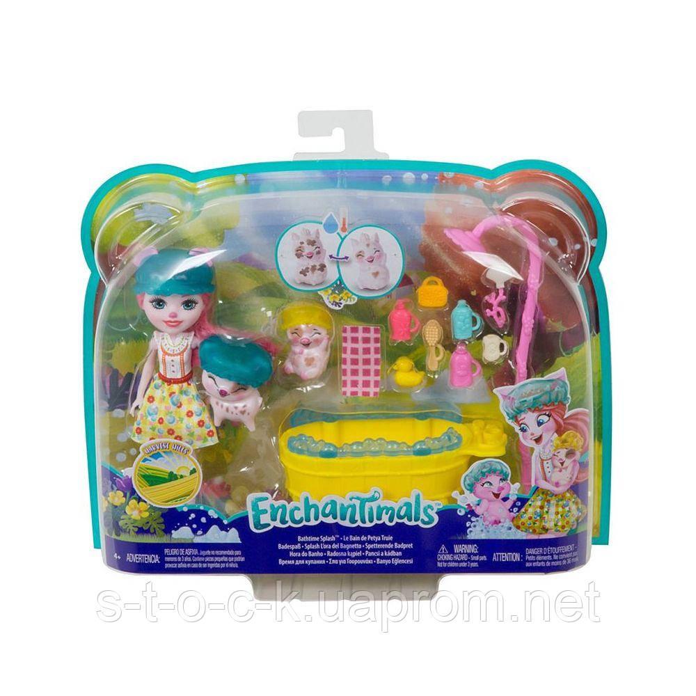 Набор Enchantimals GJX35 Банный день,  кукла 15 см