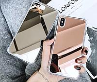 Чехол зеркало на Айфон 6/6+/7/7+/8/8+/X/Xs/Xr/Xs max Идея подарка ко Дню Влюбленных