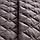 Покрывало двухстороннее стеганое 180х210см, Стиль Cube шоколад/беж, фото 5