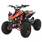 Электрический квадроцикл Profi HB-EATV1000Q2-7(MP3) оранжевый, фото 2