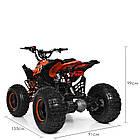 Электрический квадроцикл Profi HB-EATV1000Q2-7(MP3) оранжевый, фото 4