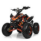 Электрический квадроцикл Profi HB-EATV1000Q2-7(MP3) оранжевый, фото 5