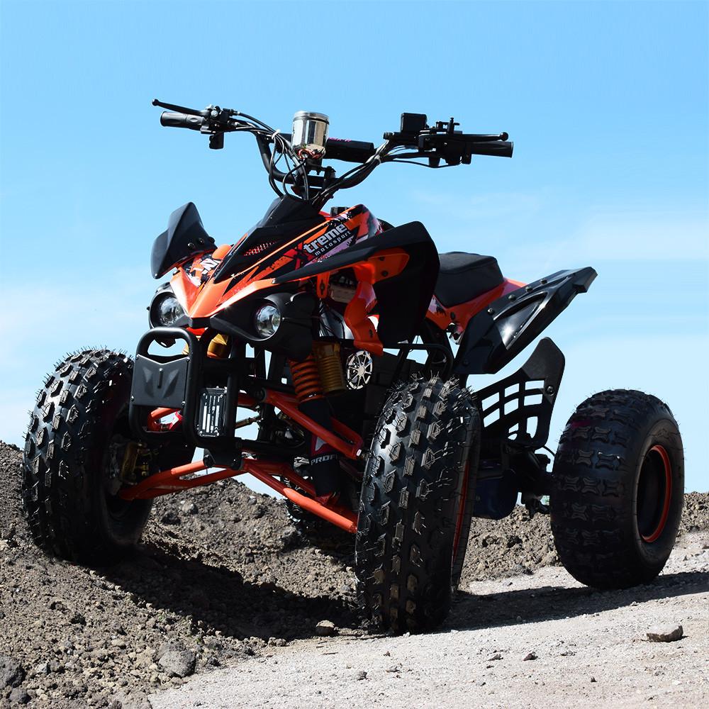 Электрический квадроцикл Profi HB-EATV1000Q2-7(MP3) оранжевый