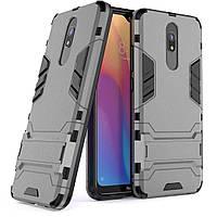 Чехол Protective Armor для Xiaomi Redmi 8A Серый
