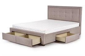 Ліжко EVORA 160 бежевий Halmar
