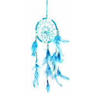 Ловец снов бело голубой (d-9 см)E