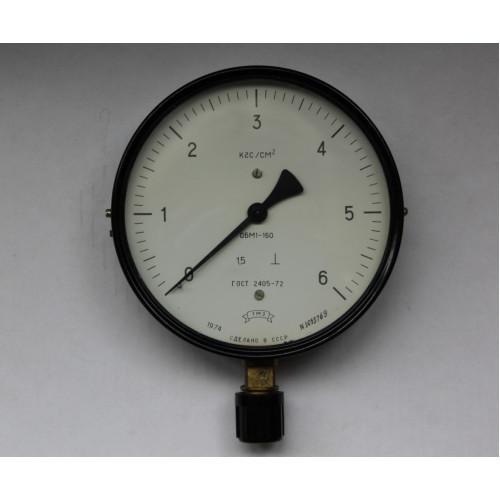 Манометр ОБМ1-160 2.5кгс
