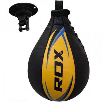 Пневмогруша боксерская RDX крепление на шарикоподшипниках, золотистый