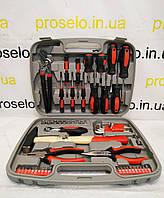 """Набор инструментов """"Master Tool"""" 57 ед. (78-0357). Для дома. Молоток, отвертки,пассатижи, трещетка,  и др."""