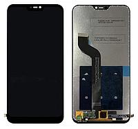 Дисплей (экран) для Xiaomi Mi A2 Lite/Redmi 6 Pro + тачскрин, черный, оригинал