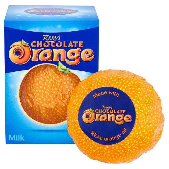Terry's Chocolate Orange - Шоколадный Апельсин из молочного шоколада