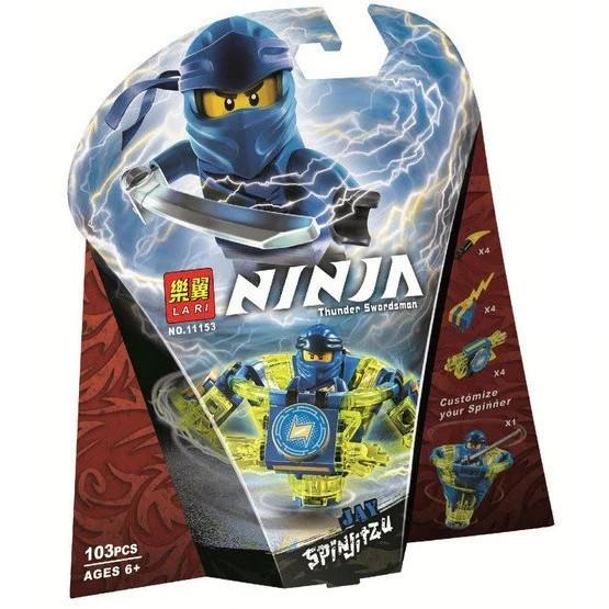 """Конструктор Bela (Lari) 11153 Ninja """"Джей: мастер Кружитцу"""" (аналог Lego Ninjago 70660), 103 дет"""