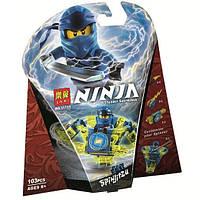 """Конструктор Bela (Lari) 11153 Ninja """"Джей: мастер Кружитцу"""" (аналог Lego Ninjago 70660), 103 дет, фото 1"""