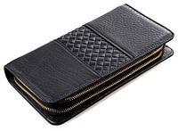 Мужской клатч Vintage 14396 кожаный Черный, фото 1