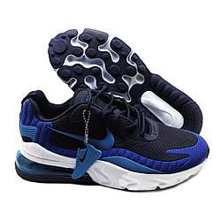 Кроссовки мужские похожие на Nike Air Max 270 React Синие