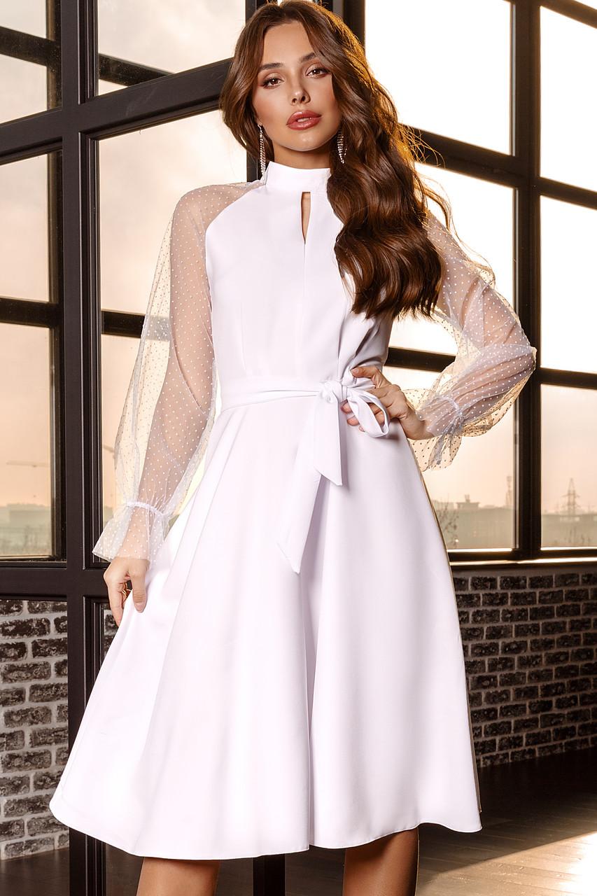 Женское платье Белый