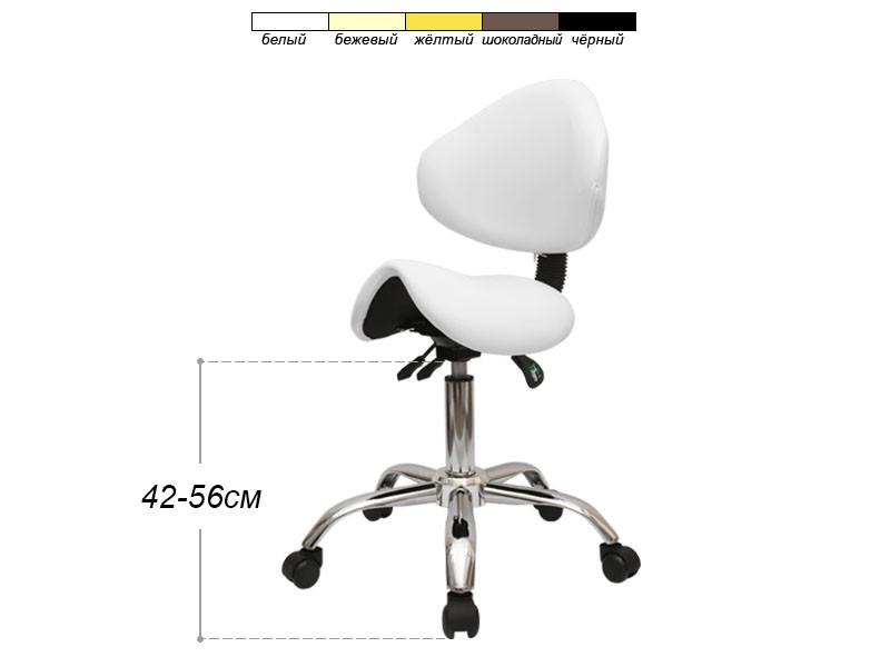 Ортопедический стул-седло (3 механизма регулировки)