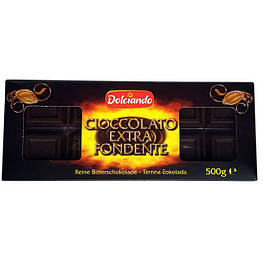 Шоколад Dolciando Cioccolato Extra Fondente 500 г