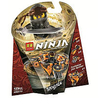 "Конструктор Bela (Lari) 11155 Ninja ""Коул: мастер Кружитцу"" (аналог Lego Ninjago 70662), 123 дет, фото 1"