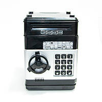🔝 Игрушечный детский сейф с кодовым замком, детская копилка, Number Bank для детей (черные кнопки) 🎁%🚚, фото 1