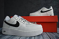 Nike Air Force low белые найк кроссовки  мужские форс кеды